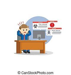 information, virus, attaquer