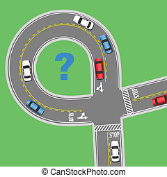 information, voyage, rue, route, voitures