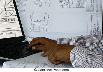 informatique, 2, aidé, conception