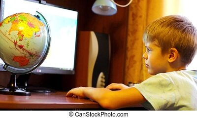 informatique, enfant