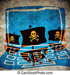 informatique, pirate