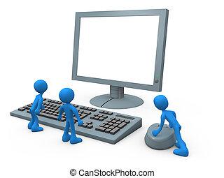 informatique, types