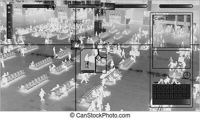 infrarouge, surveillance