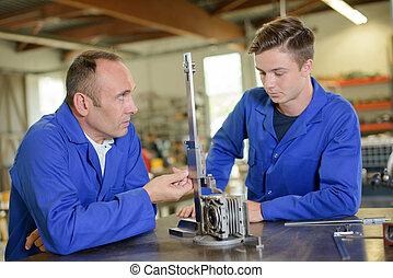 ingénieur, fonctionnement, apprenti