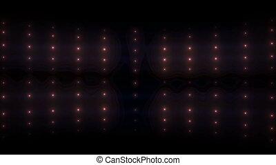 inondation, lumières ville, lueur