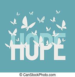 inscription, espoir
