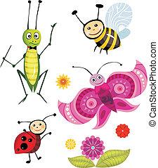 insecte, ensemble