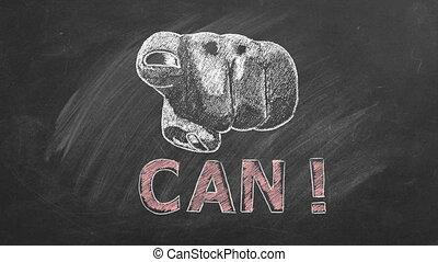 inspirationnel, motivation, vous, can., citation