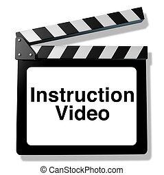 instruction, vidéo
