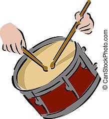 instrument, tambour