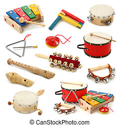 instruments, musical, collection