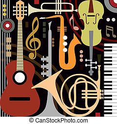 instruments, résumé, musical