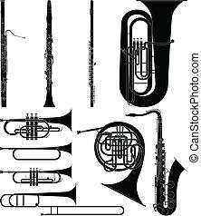 instruments, vent