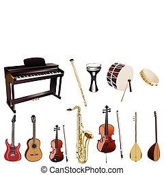instuments, musique
