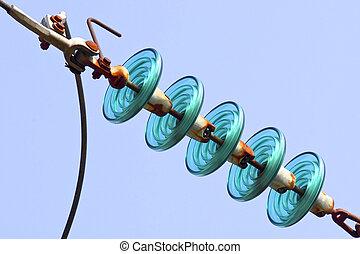 insulators, cable électrique