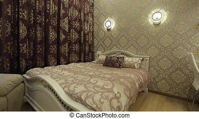 intérieur, appartements, chambre à coucher