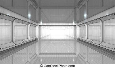 intérieur bâtiment, vide