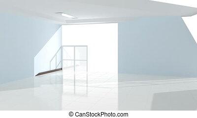 intérieur, création, bureau