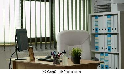 intérieur, espace, bureau vide