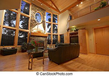 intérieur, maison, haut gamme