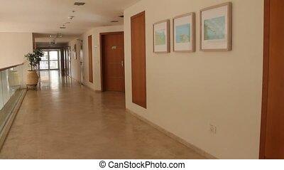 intérieur, moderne, bâtiment.