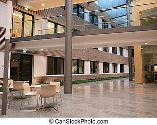 intérieur, moderne, constitué, il, bureau