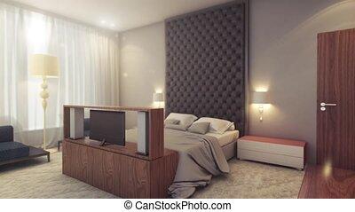 intérieur, salles hôtel, vue