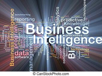 intelligence, incandescent, concept, business, fond