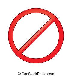 interdit, r, interdit, circle., signe