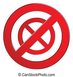 interdit, signe