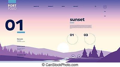 interface, bureau, gabarit, mobile, site web, conception, résumé, backgrounds.