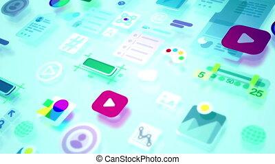 """interface, element"""", présentation, """"abstract, écoulement"""