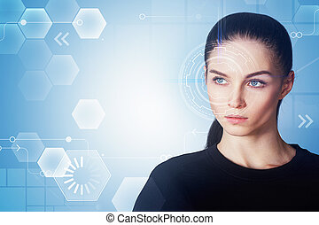 interface, femme
