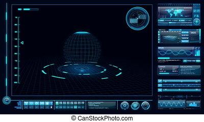 interface, high-tech
