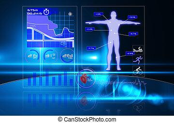 interface, monde médical