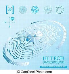 interface, sci-fi, futuriste, utilisateur