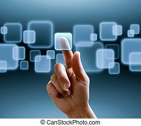 interface, touchscreen