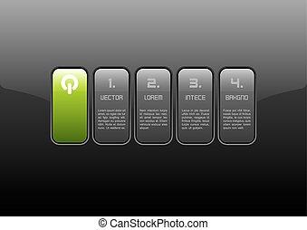 interface, vert