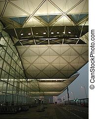 international, hong, aéroport, kong