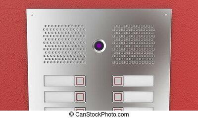 interphone, appartements