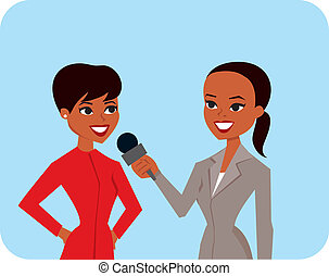 interviewer, femmes
