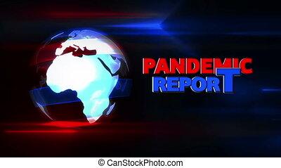 intro, pandémie, rapport, radiodiffusion