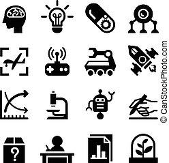 &, invention, ensemble, icône, recherche