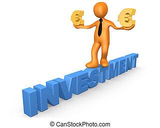 investissement, euro