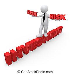 investissement, risque