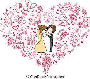 invitation, mariage
