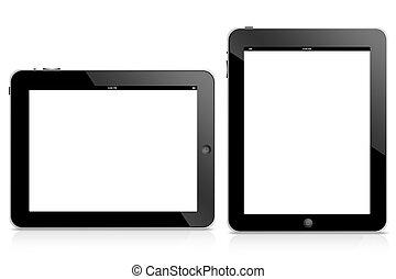 ipad, informatique, tablette