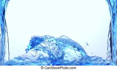 irrigation, alpha, eau bleue