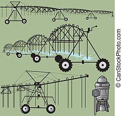 irrigation, art, agrafe