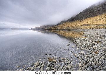 islande, fjord
